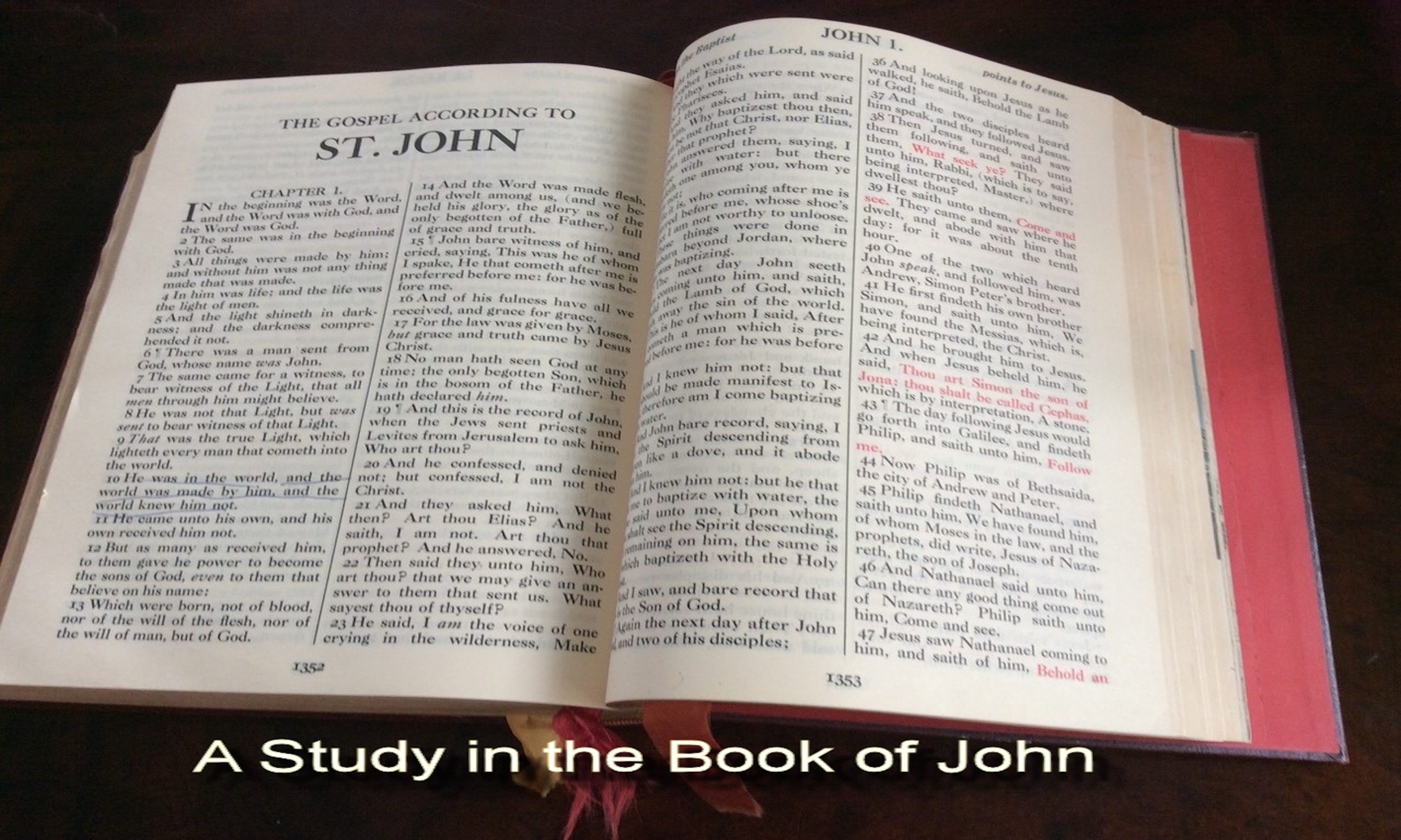 StudyintheBookofJohn