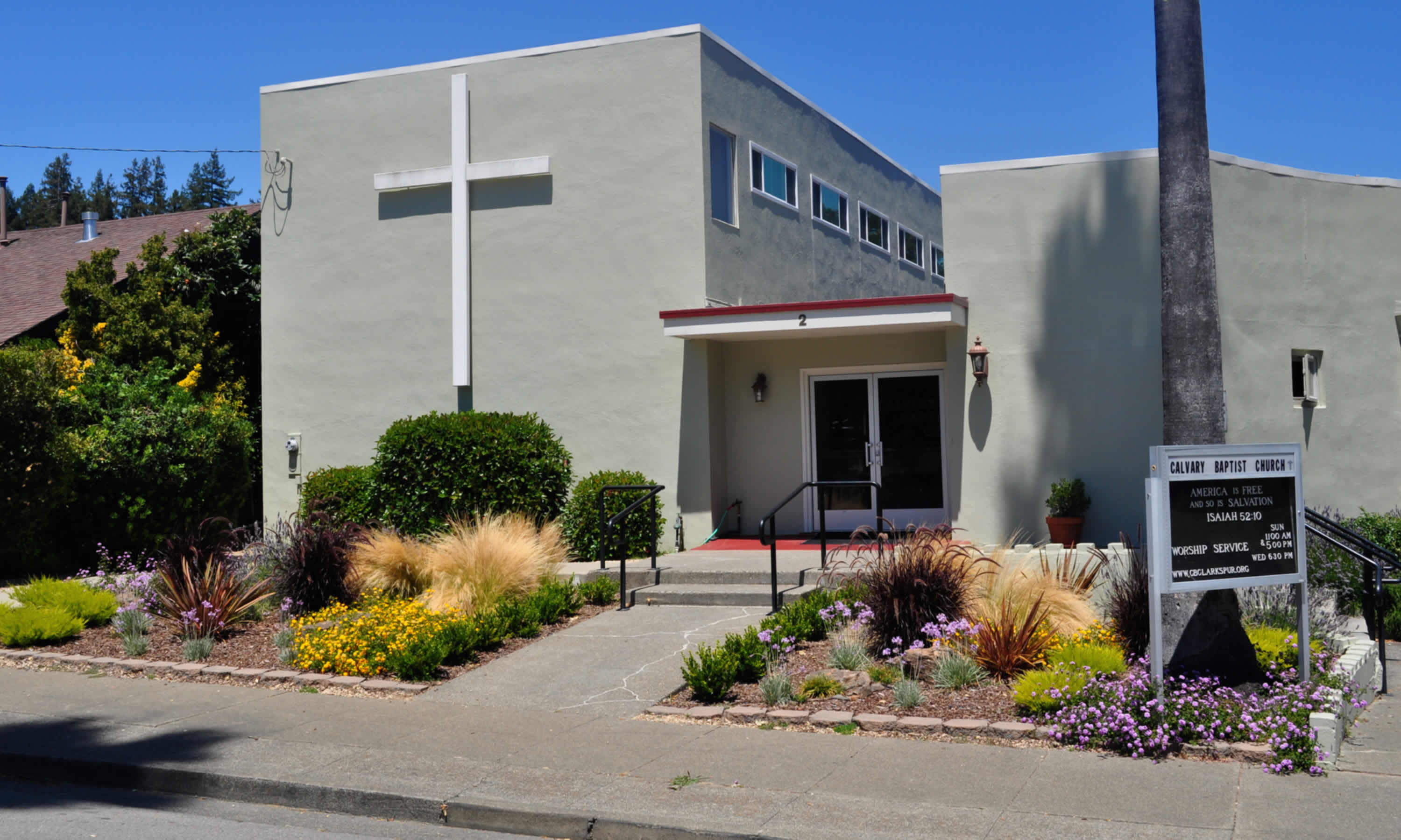 About Calvary Baptist Church of Larkspur